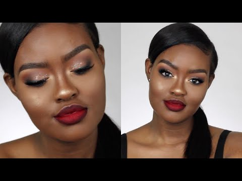 Classic Red Lip Valentine's Day Makeup Tutorial | Shanny Stephens