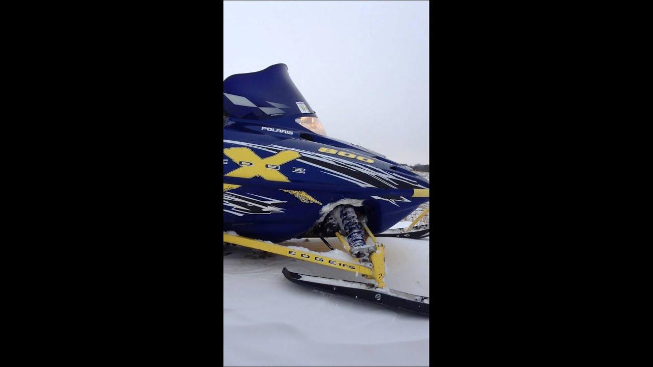 2002 Polaris Edge 700 cc snowmobile for sale, orr