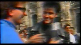 Paul Young Interview with Red Ronnie at Milano 1986