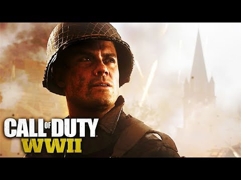 Call of Duty WW2 - All Sgt. Pierson Scenes (Actor Josh Duhamel Cutscenes)