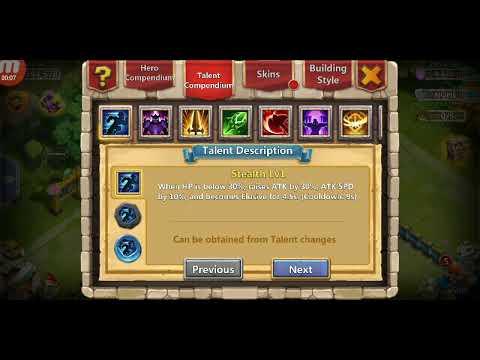 Stealth Talent Castle Clash - Logan A