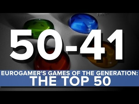 Eurogamer's Games of the Generation: The top 50 (50 - 41)