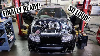 Heavily Modified 2JZ FIRST Start Up! Toyota Supra Mk4