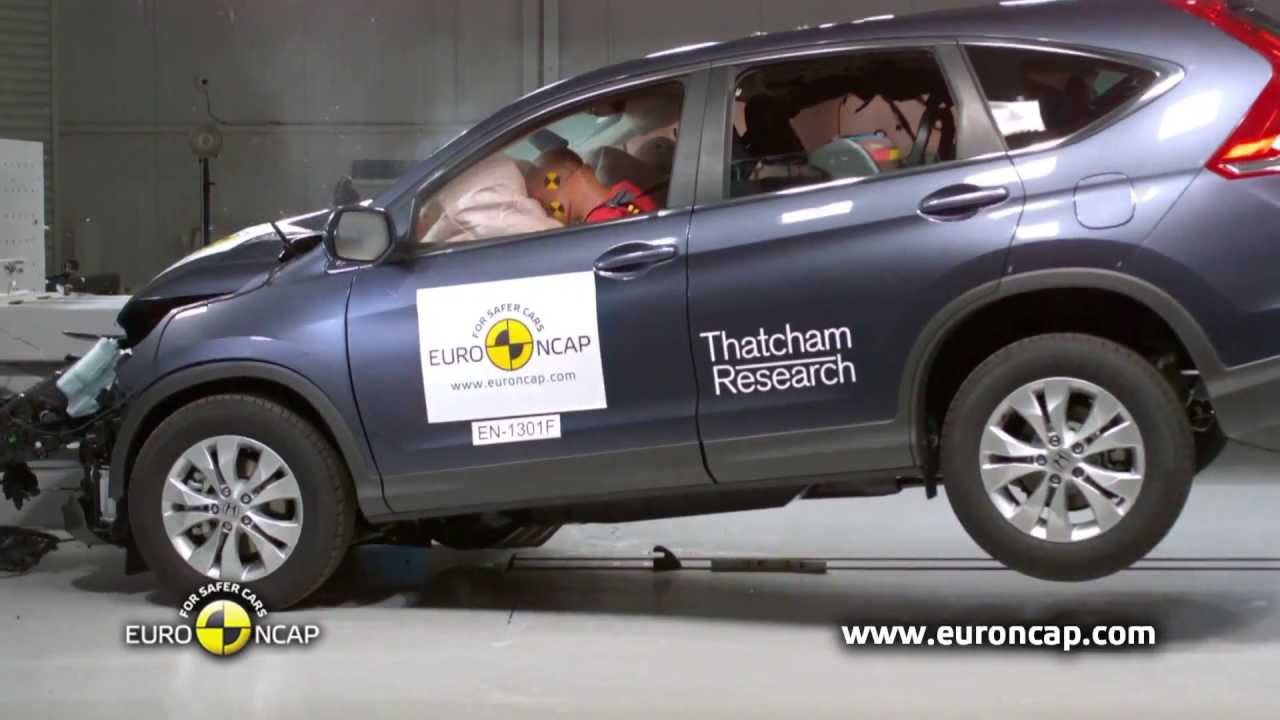 euro ncap 2013 honda cr v crash test esc test youtube. Black Bedroom Furniture Sets. Home Design Ideas