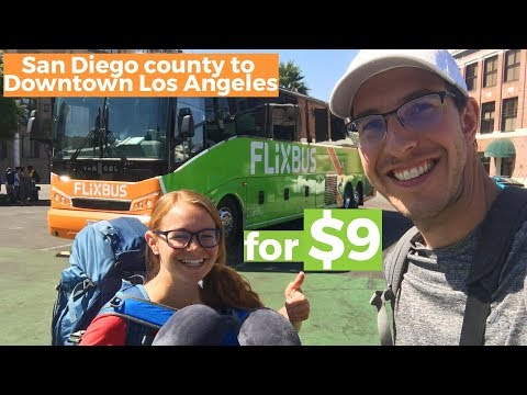 How is BUS travel in USA compared to EUROPE on FlixBus?
