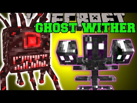 Minecraft: THE GHOST WITHER (MASSIVE STRUCTURES, 2 DIMENSIONS, BOSSES, & MORE!) Mod Showcase