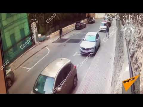 Нападение на полицейских в Москве. Кадры перестрелки