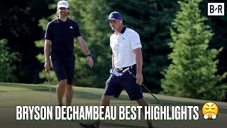 Bryson DeChambeau Carves Up The Match 2021 With Aaron Rodgers