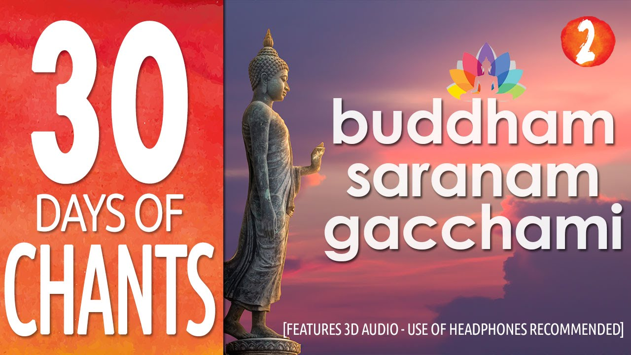 Buddham Sharanam Gacchami Mantra Wallpaper and Meaning - Meditative Mind