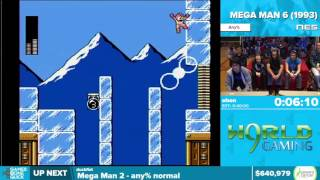 Mega Man 6 by ohon in 35:19 - Awesome Games Done Quick 2016 - Part 136