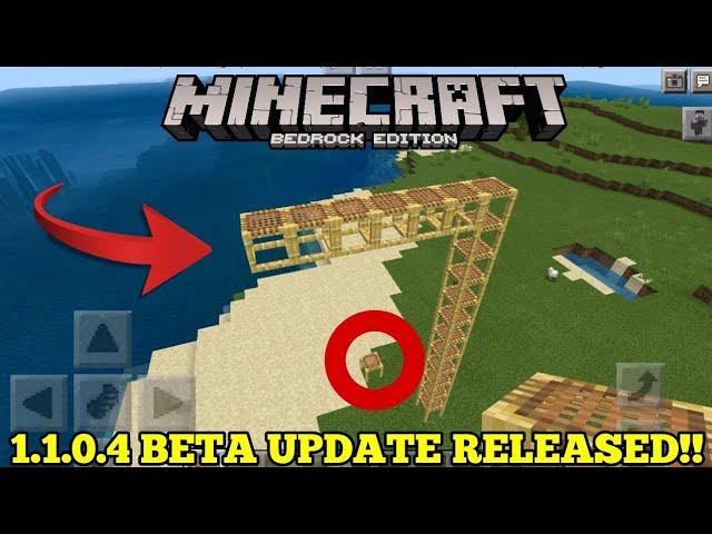 minecraft bedrock edition update 1.11 release date