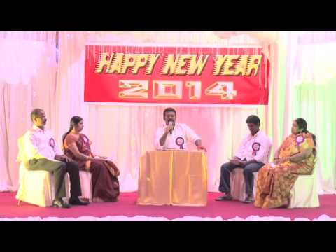 Dubai live Tamil people celebrating new year 2014(combined video)part 1