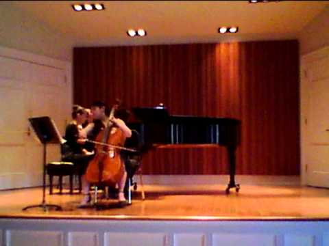George Oakley Sonata for Cello and Piano 3nd Mvt