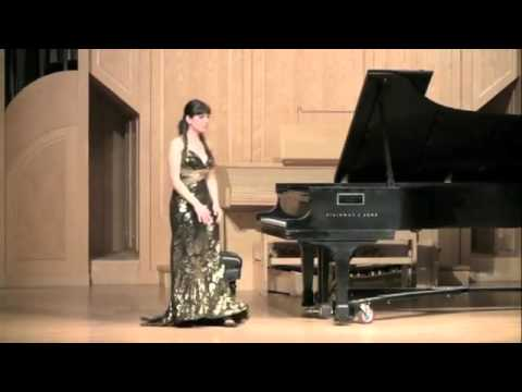 Zheni Atanasova Senior Recital University of Nevada Las Vegas