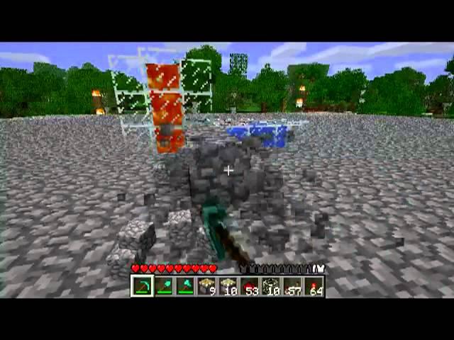 Minecraft How To Make A Cobblestone Sand And Gravel Farm W Piston Tutorial Youtube