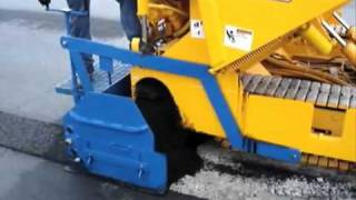 Puckett Equipment Paver in Action