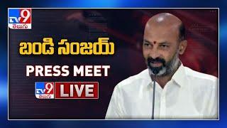 BJP Bandi Sanjay Press Meet LIVE - TV9