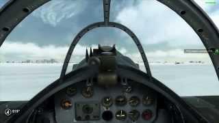 Ил-2 Штурмовик. Битва за Сталинград.  Ла-5. Прикрываем танки