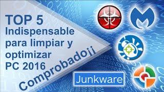 5 HERRAMIENTAS Indispensables para limpiar y optimizar PC 2016. Comprobado??