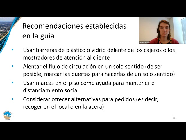 Spanish - #ReopenReady - Retail