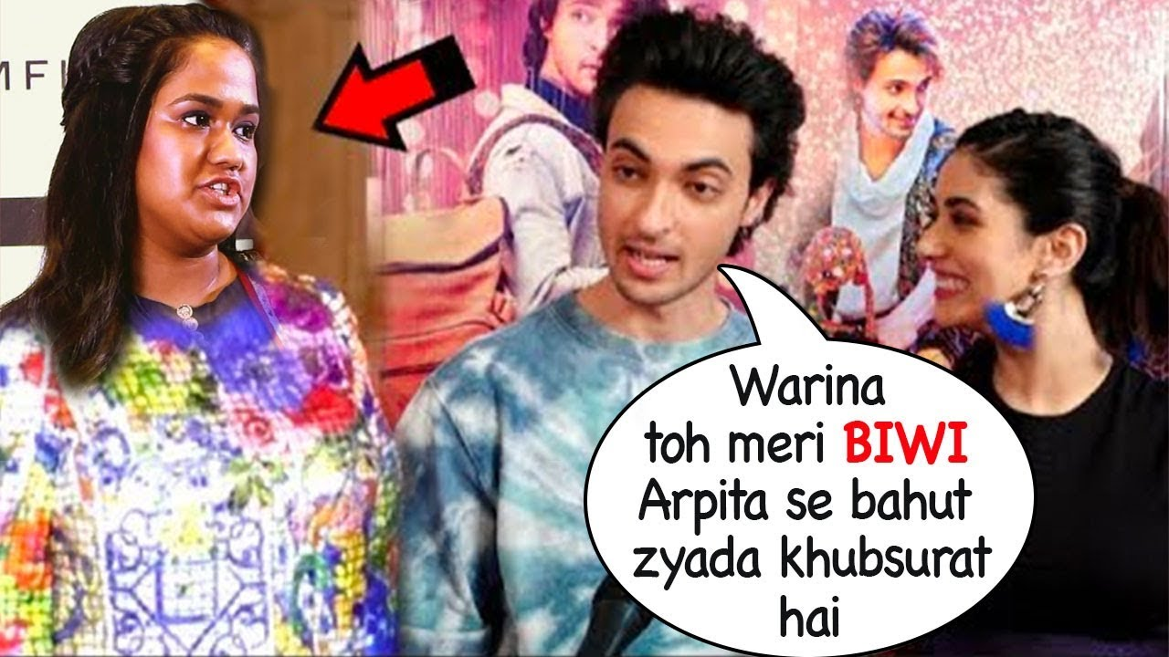 Ayyush Sharma Again FLIRTS With Warina Despite Salman Khan's Warning Not To Hurt Sister Arpita