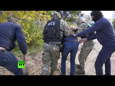 Видео задержания главаря российского крыла «Хизб ут-Тахрир» в Татарстане