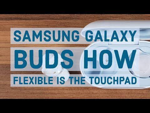 Samsung Galaxy Buds | How flexible is the touchpad
