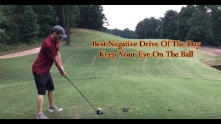 Golf Backwards Drive  Keep Your Eye On The Ball