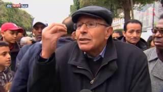 احتجاجات في تونس في ذكرى سقوط نظام بن علي