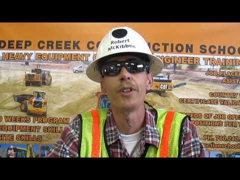 Heavy Equipment Operator Viceo Resume Robert McKibben