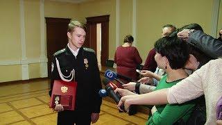 Салдинцу Никите Тарасову вручили вторую медаль – «За спасение жизни»