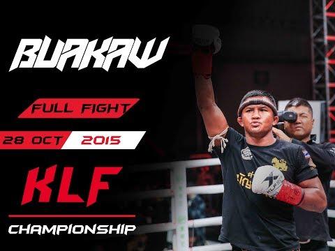 Kickboxing: Buakaw Banchamek VS Gu Hui Full Fight (2018)