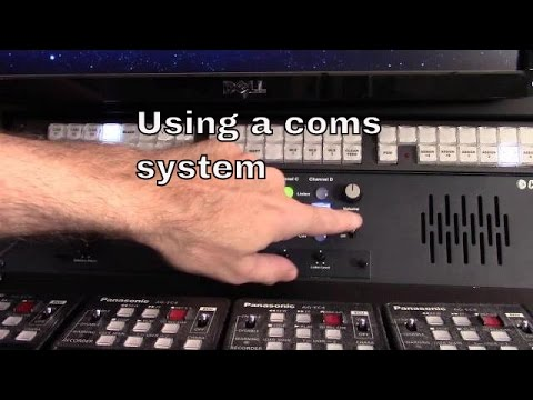 Using communications systems (coms) in live video production | tnb160407