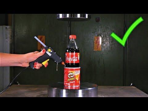 10 AMAZING LIFE HACKS with Hydraulic Press