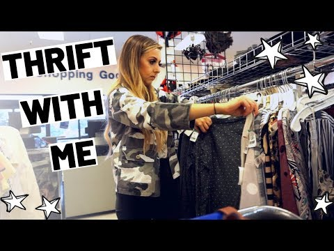 FALL THRIFTING AT GOODWILL | HAUL & TRY ON