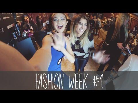 GIGI HADID GETROFFEN! Fashion Week - Vlog #1 | BELLA