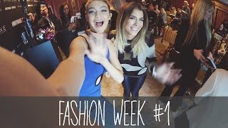 GIGI HADID GETROFFEN! Fashion Week - Vlog #1 | BELLA
