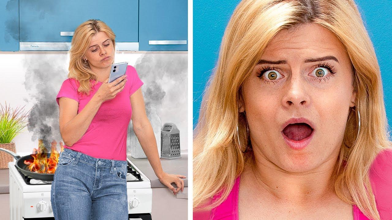 ประเภทของสาวๆในครัว / 17 สถานการณ์ตลกที่เราทุกคนสามารถเจอได้