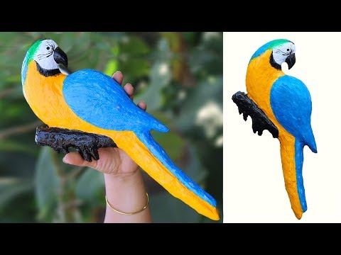 Wall hanging Bird || Quick & Easy Bird Wall Hanging || DIY Wall Hanging Craft Ideas