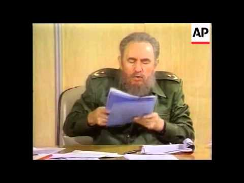 Cuba: Castro's Attack on Dissidents, Cuba: Protest Against Communist Regime