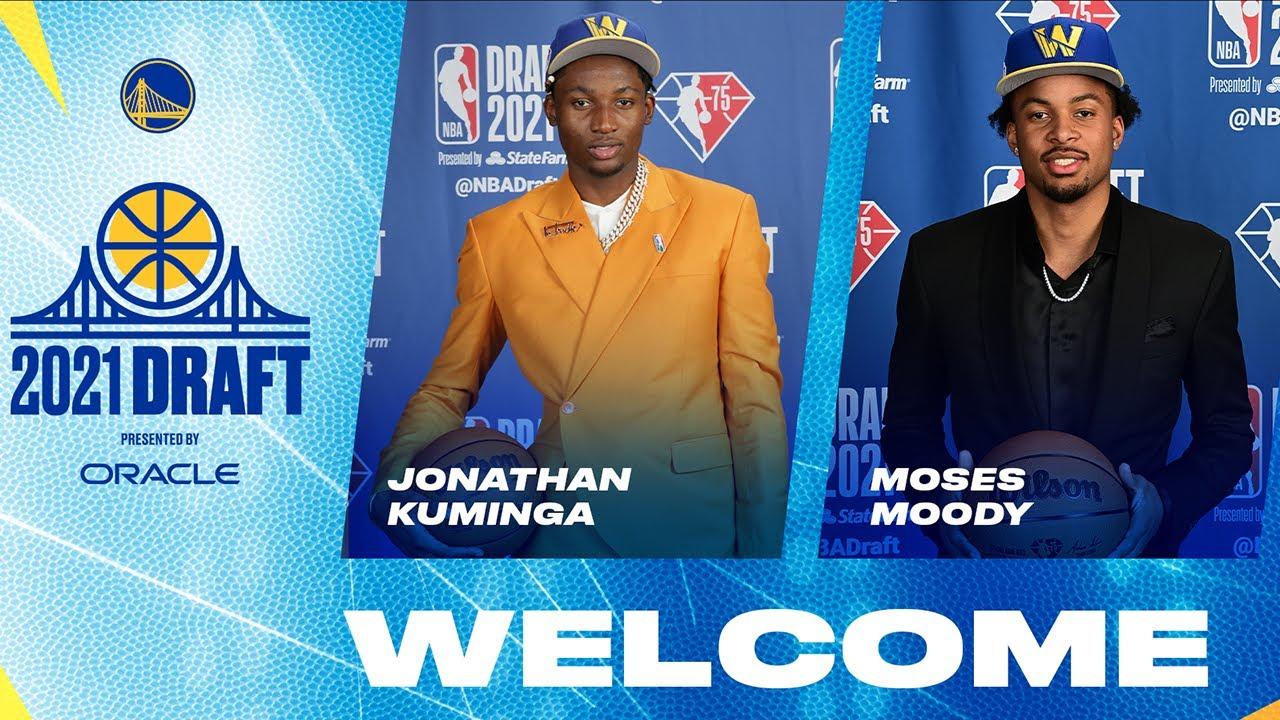 Golden State Warriors Introduce Jonathan Kuminga & Moses Moody