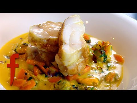 Gordon Ramsay Demonstrates How To Make Monkfish with a Mussel Broth | The F Word