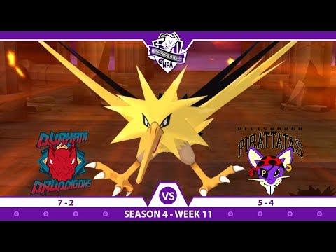 ZAPPITY ZAP ZAPDOS   NPA S4 W11 Battle   Durham Druddigons VS Pittsburgh Pirattatas