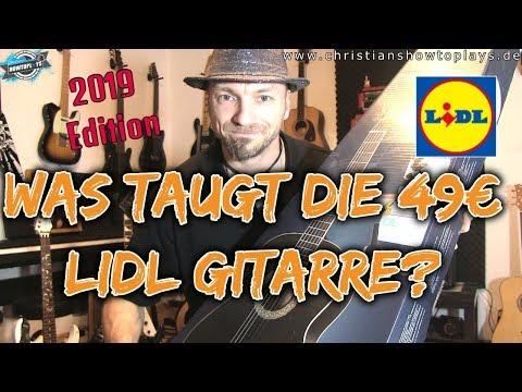 Was Taugt Die 49€ Lidl Gitarre? 2019 Edition