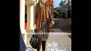 جريدة مصر | للمحجبات أزياء متنوعة لشتاء 2012