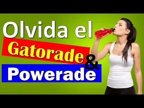 2 Bebidas Hidratantes e Isotónicas Caseras, mejores que el GATORADE ó POWERADE ►Saludablemente TV◄