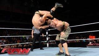 John Cena vs. Alberto Del Rio - Champion vs. Champion Non-Title Match: Raw, July 1, 2013