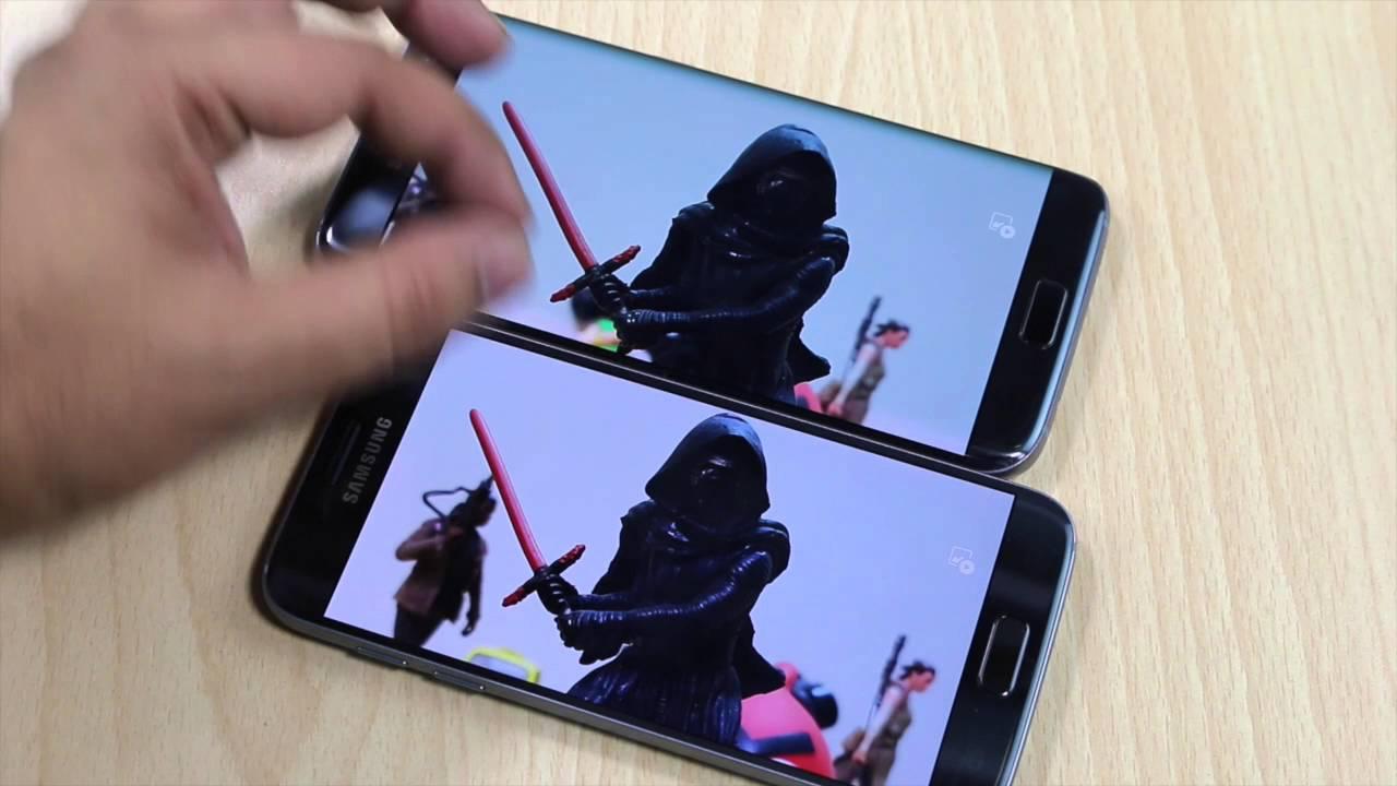 Samsung S7, S7 Edge Camera Sensor ISOCELL VS Sony Comparison