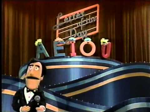 Classic Sesame Street  Letter of the Day Pageant  YouTube