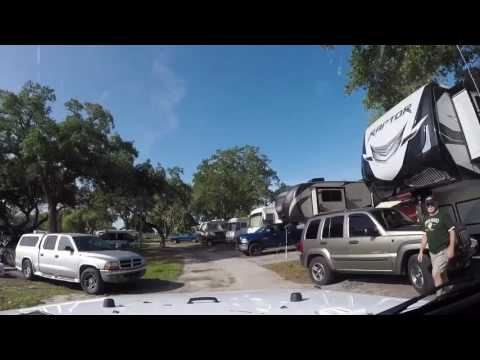 KOA Campground in St. Petersburg/ Madeira Beach (Florida)
